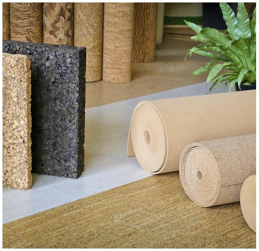 Produits en liège, matériau naturel et écologique - Alsabrico