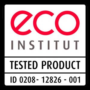Label éco institut pour la plaque Fermacell
