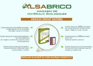 Écobulle : Argilus enduit naturel