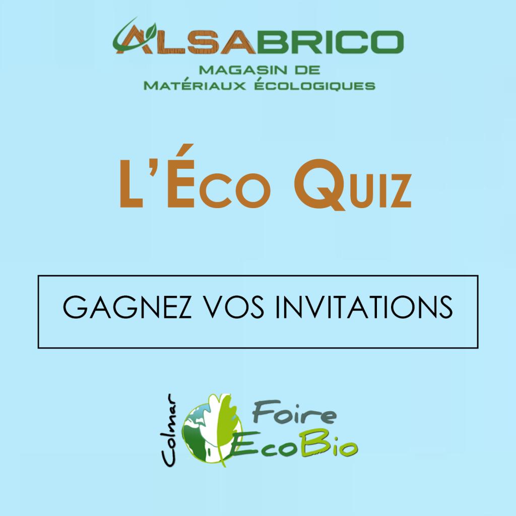 Jeu concours gagnez vos invitations pour la foire co bio 2017 alsabrico - Invitation foire de lyon 2017 ...