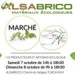Bannière Marché Bio - Portes Ouvertes ALSABRICO