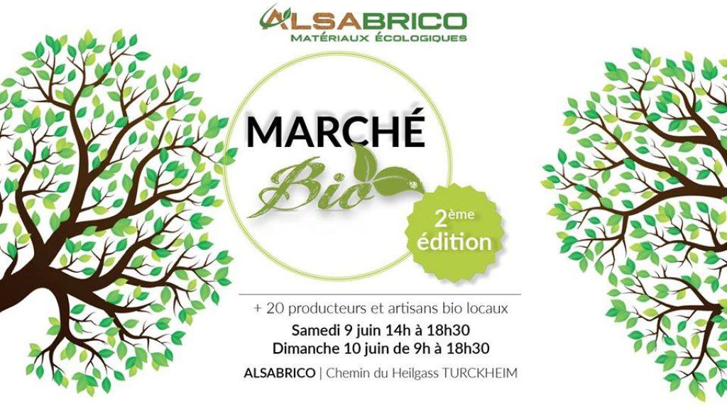 Marché bio Alsabrico | 2ème édition