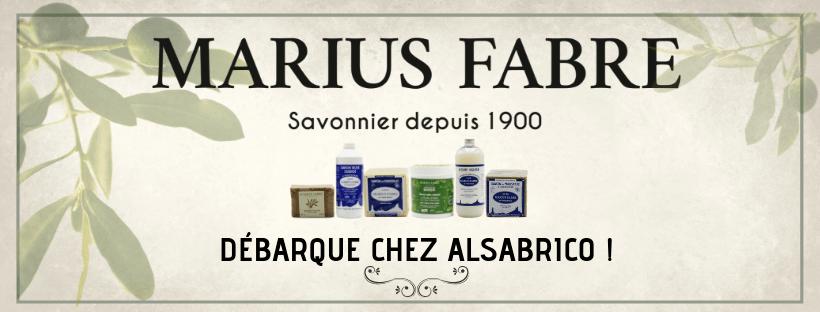 LES PRODUITS MARIUS FABRE DEBARQUENT CHEZ ALSABRICO