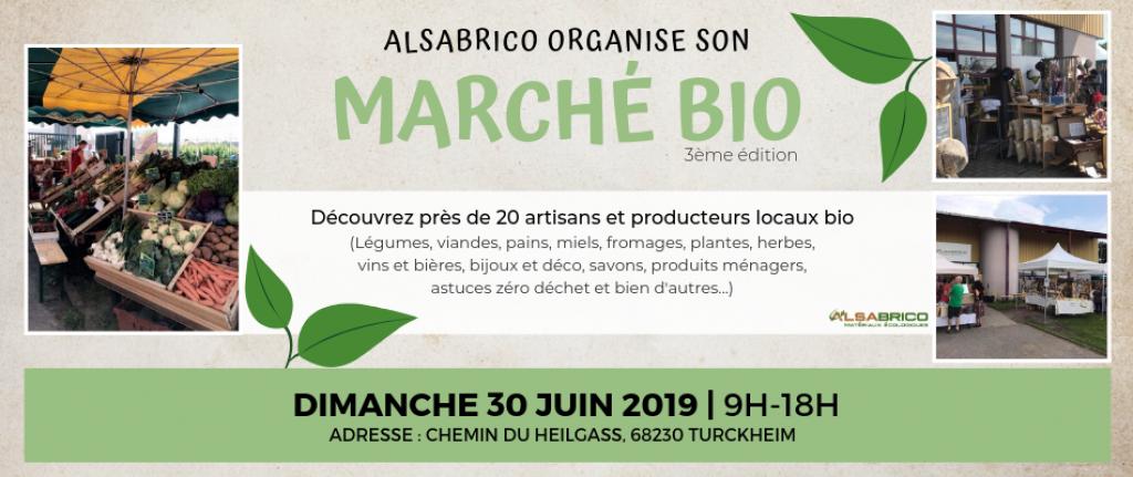 Marché bio | 3ème édition 2019 | Alsabrico