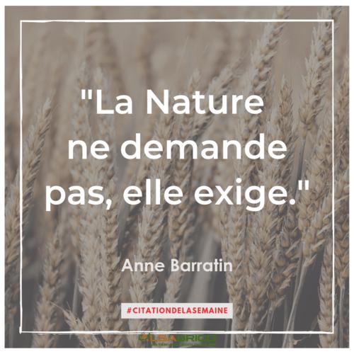 """Citation n°21 - """"La Nature ne demande pas, elle exige""""."""