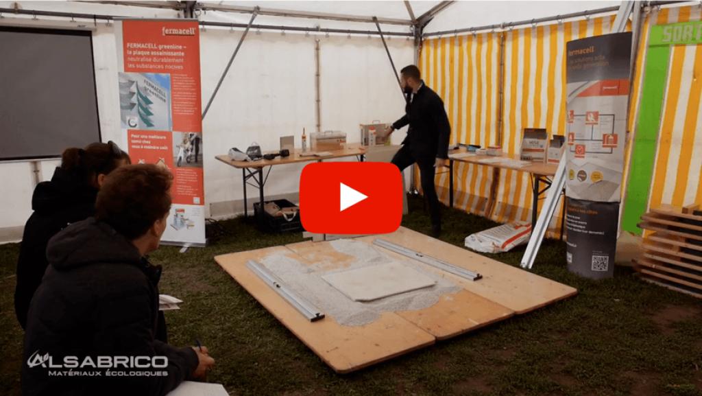 Vidéo : comment égaliser un sol avec des plaques Fermacell