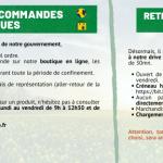 Bannière CORONAVIRUS - COVID 19 - ALSABRICO