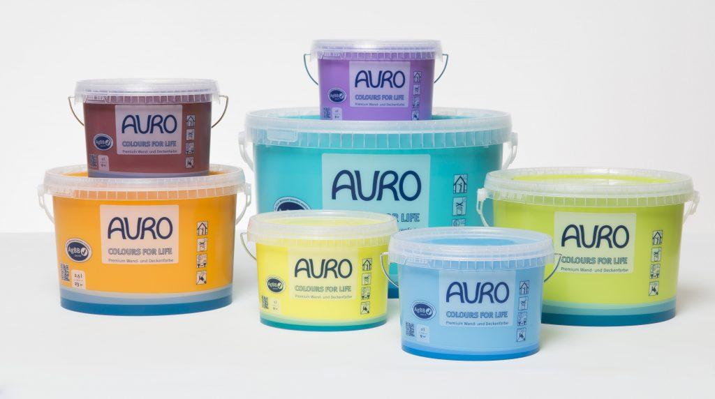 Peintures COLOURS FOR LIFE AURO