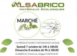 Marché BIO – Portes ouvertes ALSABRICO