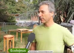 Jeux en bois Ecolojeux : Marché bio D'Alsabrico