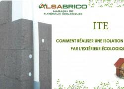 ITE : Comment réaliser une Isolation thermique par l'extérieur écologique?