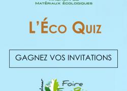 [Jeu concours] Gagnez vos invitations pour la Foire Éco Bio 2017 – Alsabrico