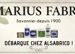 Les produits MARIUS FABRE débarquent chez Alsabrico !