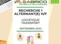 [Recrutement terminé] Alternance logistique-transport H/F