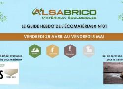 Le Guide Hebdo de l'Écomatériaux N°01