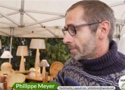 Tourneur sur bois : Marché bio D'Alsabrico